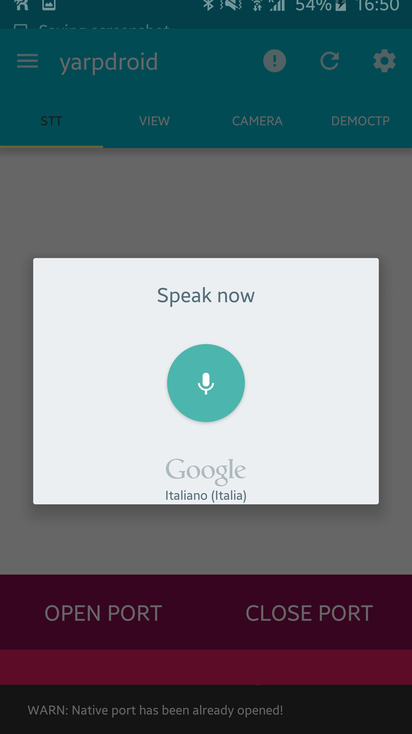Android integration onto the iCub platform - Alessandro Roncone - Ph D